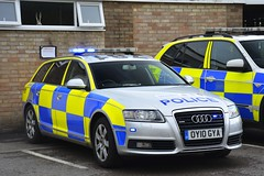 OY10 GYA (S11 AUN) Tags: avon somerset police audi a6 30tdi quattro avant estate exdemo demonstrator anpr traffic car rpu roads policing unit 999 emergency vehicle triforce armed response fsu firearms support oy10gya