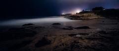 Santa Cruz shores at midnight (Graham Gibson) Tags: santa cruz a7rii sony fe vacation
