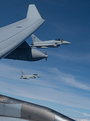 Hellow boys... (Air Frame Photography) Tags: raf flying typoon fighter jets plane brize norton north sea photography airtoair farmoor airtanker hose pilot