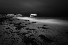 Natural Bridges in the darkness (Graham Gibson) Tags: santa cruz a7rii sony fe vacation