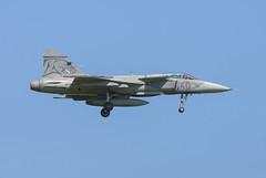 Saab JAS 39 Gripen (Boushh_TFA) Tags: saab jas 39 gripen 39311 40 hungarian air force magyar légierő nato tiger meet 2018 31st base krzesiny poznan poland epks nikon d600 nikkor 300mm f28 vrii