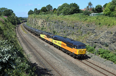 56049 (Andy Hughes Rail Pics.) Tags: 56049 6e32 horbury 23072019