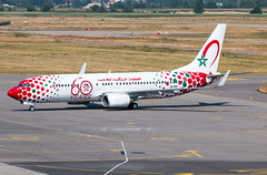 "SXB ➡️ CN-RGV Boeing 737-800 Royal Air Maroc ""60Th"" (Stephane GolfTraveller) Tags: sxb cnrgv boeing 737800 royalairmaroc 60th strasbourg entzheim lfst aeroport airport planespotting ©stephanegolftraveller 737 canon airliners"