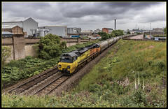 812 overture (Blaydon52C) Tags: railway rail railways trains train transport locomotive locomotives loco colas dundee scotland scotrail railfreight 70812 class70 camperdown docks 6a65 oxwellmains aberdeen tay