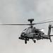 Apache with smoke background