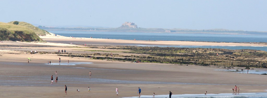 Lindisfarne from Seahouses