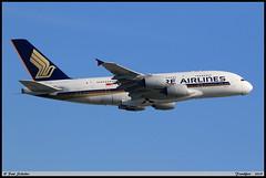 "AIRBUS A380 841 ""SINGAPORE AIRLINES"" 9V-SKK 051 Frankfurt juin 2019 (paulschaller67) Tags: airbus a380 841 singaporeairlines 9vskk 051 frankfurt juin 2019"
