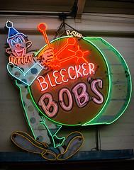 Bleecker Bob's (avilon_music) Tags: bleekerbobs recordstore robertplotnik melrosestreet vintageneonsigns clown neonclown animatedneonsigns neon markpeacockphotography americana signage signs neonsigns recordshop nyc hollywood bleeckerbobsgoldenoldies 1967