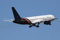 Boeing 757-256 Titan Airways G-ZAPX (Niko Hpx) Tags: boeing757256 boeing 757256 b757 757200 titanairways titan zt awc zap gzapx msn29309 cn29309 ln936 n3519l y202 rrrb211535e4 rr rb211535e4 rollsroyce rennessaintjacques rennes lfrn rns takeoff décollage gearinmotion gim inthesky