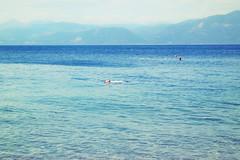 Life Is A Beach  : Zen (Storyteller.....) Tags: summer greece sea blue azul man swim zen
