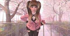 【innocence】 (Sooyun Ichtama) Tags: secondlife sl pink schoolgirl angelica avoixs horntail love moremore namiichu flora theepiphany gacha