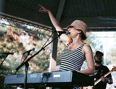 Emily Bass + The near Miracle   Stransky Park 7.25.19