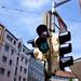 Equal rights traffic lights in Glockenbachviertel