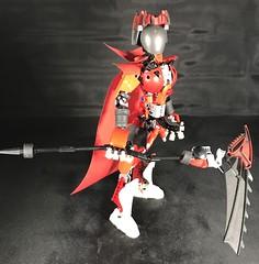 Red Reaper's Scythe (Elemental Hero Shadow) Tags: lego moc reaper scythe redreaper bionicle