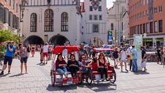 Tourists (timnutt) Tags: x100t munchen street people fuji bavaria munich city x100 fujifilm germany