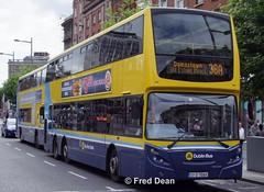Dublin Bus VT65 (07D70065). (Fred Dean Jnr) Tags: dublinbusyellowbluelivery dublinbusroute38a volvo b9tl alexander dennis enviro500 vt65 07d70065 oconnellstreetdublin august2010 busathacliath pboro dublin bus triaxle adl adlenviro