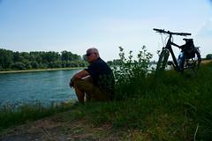 Bike to Work (Lutz Blohm) Tags: biketowork bike2work fahrradtour arbeitsweg rheinufer stevensp18 pinionp118getriebe sonyfe24105mmf4goss sonyalpha7aiii