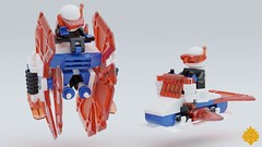 Ice Planet Speeders (Umbra-Manis) Tags: space lego lsb moc mecabricks iceplanet speeder