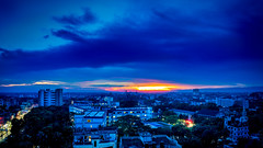 Sunset In Sylhet M.A.G. Osmani Medical College Hospital (doctor.atif) Tags: bangladesh sylhet beauty beautiful nature sunset sky cloud blue building skyscraper landscape city cityscape urban town somc somch sony a7iii alpha tamron 2875 f28 di iii rxd yellow orange evening afternoon dusk mag osmani medical college hospital nightscape campus street light