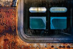 (jtr27) Tags: dscf2981xl jtr27 fuji fujifilm fujinon xe2s 35mm f2 f20 rwr wr bus junk junkyard wreck peelingpaint maine