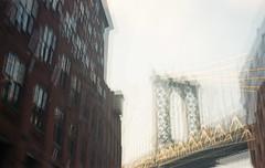 Heartquake (Dikal) Tags: folding ikonta zeissikon carlzeissjena tessar mediumformat mf 6x9 120 film nofilter notrick newyork brooklyn bridge usa roadtrip dikal 2018