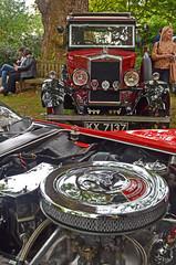 1930 Morris Cowley Flat Nose (Malc Edwards) Tags: belgraviaclassiccarshow2019 1930 morris cowley flatnose chevrolet smallblock sbc 327cubicinch engine corvette