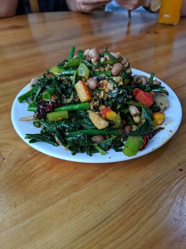 野菜と豆の炒め物 by Ik T