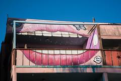 Mouth Building at Venice Beach, CA (ChrisGoldNY) Tags: chrisgoldphoto chrisgoldny chrisgoldberg bookcovers albumcovers licensing sonyalpha sonyimages sonya7rii venice venicebeach losangeles california socal cali westcoast usa america graffiti streetart lips mouth teeth architecture buildings venicebeachboardwalk