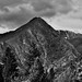 Wedge Mountain and Other Ridges and Peaks of the Stuart Range (Black & White)