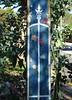 Fence on a Pole (mikecogh) Tags: croydon stobiepole flowers fence spire telegraphpole