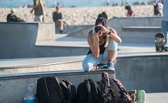 Girl Photographer at Venice Beach Skate Plaza - Venice Beach, CA (ChrisGoldNY) Tags: chrisgoldphoto chrisgoldny chrisgoldberg bookcovers albumcovers licensing sonyalpha sonyimages sonya7rii venice venicebeach losangeles california socal cali westcoast usa america venicebeachskatepark venicebeachskateplaza skater skate skateboard skateboarding skatergirl badass girlpower girls skateboards skatepark californian