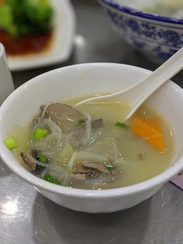 羊のレバーの入ったスープ ー 賈三灌湯包子 by Ik T
