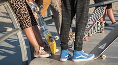 Skater Girl Style at Venice Beach Skate Plaza - Venice Beach, CA (ChrisGoldNY) Tags: chrisgoldphoto chrisgoldny chrisgoldberg bookcovers albumcovers licensing sonyalpha sonyimages sonya7rii venice venicebeach losangeles california socal cali westcoast usa america venicebeachskatepark venicebeachskateplaza skater skate skateboard skateboarding skatergirl badass girlpower girls skateboards skatepark californian leopardprint style fashion badassgirl cute beautiful woman women female skateboarder