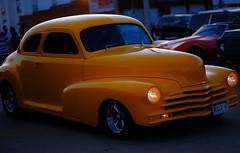 Mello 47 (Tim @ Photovisions) Tags: xt2 night fuji hotrod fujifilm rod nebraska yellow melloyellow
