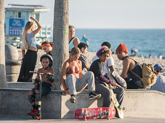 Skater Girls at Venice Beach Skate Plaza - Venice Beach, CA (ChrisGoldNY) Tags: chrisgoldphoto chrisgoldny chrisgoldberg bookcovers albumcovers licensing sonyalpha sonyimages sonya7rii venice venicebeach losangeles california socal cali westcoast usa america venicebeachskatepark venicebeachskateplaza skater skate skateboard skateboarding skatergirl badass girlpower girls skateboards skatepark californian