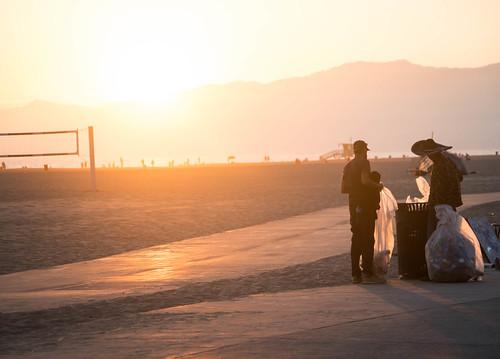 Garbage Collectors - Venice Beach, California