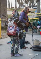 Street Musician Clown Jacket - Venice Beach, California (ChrisGoldNY) Tags: chrisgoldphoto chrisgoldny chrisgoldberg bookcovers albumcovers licensing sonyalpha sonyimages sonya7rii venice venicebeach losangeles california socal cali westcoast usa america