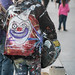 Street Musician Clown Jacket - Venice Beach, California