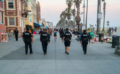 Police Walk Through Venice Beach, California (ChrisGoldNY) Tags: bookcovers albumcovers licensing chrisgoldny chrisgoldberg chrisgoldphoto california venice usa cali america losangeles socal venicebeach westcoast sonyalpha sonyimages sonya7rii cops police law lawenforcement policeofficers lapd