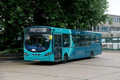 Arriva Southern Counties, 3790 - MX61AWO (James Excell's Bus and Coach Photos) Tags: arrivakentthameside sapphire100101 stevenagebusstation t259thehomecountiesnorth vdlsb200 wrightbuspulsar2 exarrivatheshires3760 exarrivamerseyside3081
