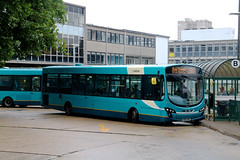 Arriva Southern Counties, 3785 - MX61AWA (James Excell's Bus and Coach Photos) Tags: arrivakentthameside stevenagebusstation t259thehomecountiesnorth vdlsb200 wrightbuspulsar2 exarrivatheshires3755 exarrivamerseyside3074