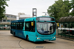 Arriva Southern Counties, 3762 - YJ08DZN (James Excell's Bus and Coach Photos) Tags: t259thehomecountiesnorth arrivakentthameside sapphire100101 stevenagebusstation vdlsb200 wrightbuspulsar