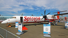 Bombardier DH 8-400 ~ VT-SQI  Spicejet (Aero.passion DBC-1) Tags: 2019 salon du bourget paris airshow dbc1 david biscove aeropassion avion aircraft aviation plane meeting lbg bombardier dh8 ~ vtsqi spicejet