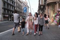 Shopping Bag (Bury Gardener) Tags: streetphotography street streetcandids snaps strangers candid candids people peoplewatching folks 2019 fuji fujixt3 fujifilm barcelona catalonia spain