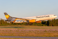 OY-VKG Airbus A330-343 Thomas Cook Airlines Scandinavia (Andreas Eriksson - VstPic) Tags: oyvkg airbus a330343 thomas cook airlines scandinavia