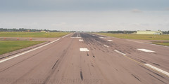 Turning onto the runway.. (Air Frame Photography) Tags: raf flying typoon fighter jets plane brize norton north sea photography airtoair farmoor airtanker hose pilot