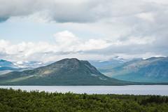 Bieskecohkka. (Jag är David Nyman) Tags: abisko sverige sweden lappland swedish lapland torneträsk mountains berg fjäll горы швеция лапландия шведская озеро