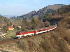 754 052, Turček,  5 April 2019 (Mr Joseph Bloggs) Tags: train treno bahn railway railroad zug vlak 945 32945 zilina zvolven turcek turček 754 754052 052 slovakia zssk