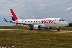 HOP! F-HBXO (U. Heinze) Tags: aircraft airlines airways airplane flugzeug planespotting plane nikon nikon28300mm haj hannoverlangenhagenairporthaj eddv