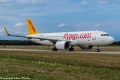 Pegasus Airlines TC-NBR (U. Heinze) Tags: aircraft airlines airways airplane flugzeug planespotting plane nikon nikon28300mm haj hannoverlangenhagenairporthaj eddv